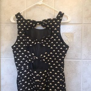 Forever 21 dress with cutout back